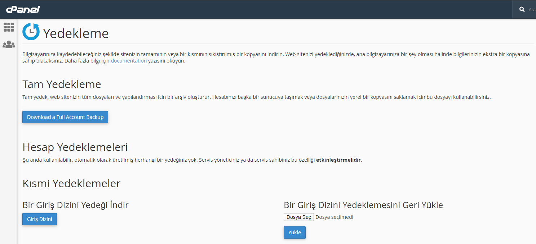 WordPress Siteyi Başka Hostinge Taşıma